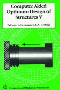 Computer aided optimum design of structures V