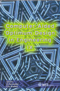 Computer aided optimum design in engineering IX
