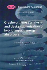 Crashworthiness analysis and design optimization of hybrid impact energy absorbers