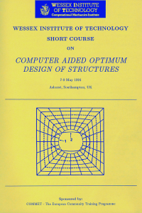 Computer aided optimum design of structures