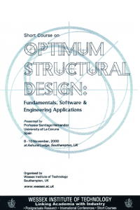 Optimum structural design: fundamentals, software & engineering applications