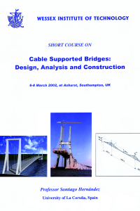 Cable supported bridges: design, analysis and construction