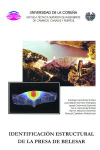 Identificación estructural de la presa de Belesar