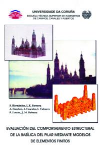 Evaluación del comportamiento estructural de la Basílica del Pilar mediante modelos de elementos finitos