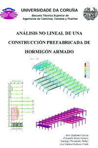 Análisis no lineal de una estructura prefabricada de hormigón armado