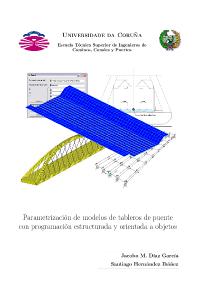 Parametrización de modelos de tableros de puente con programación estructurada y orientada a objetos