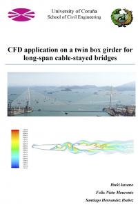 CFD Application on a twin box girder for long-span cable-stayed bridges