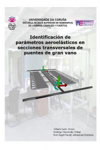 Identificación de parámetros aeroelásticos en secciones transversales de puentes de gran vano