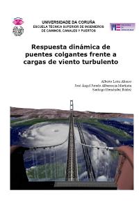 Respuesta dinámica de puentes colgantes frente a cargas de viento turbulento