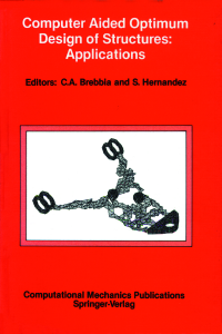 Computer aided optimum design of structures: applications