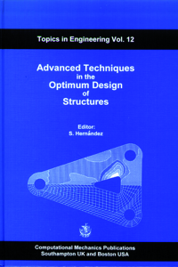 Advanced techniques in the optimum design of structures