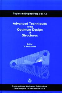 Advanced techniques in the optimum design of structures