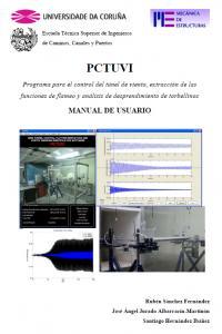 PCTUVI. Programa para el control del túnel de viento.