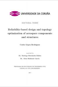 Reliability-based design and topology optimization of aerospace components and structures