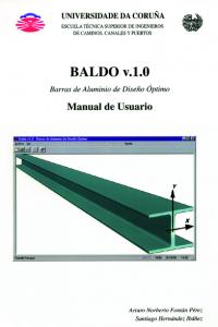 BALDO (Barras de Aluminio de Diseño Óptimo). Manual de Usuario