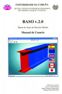 BASO v.2.0 (Barras de Acero de Sección Óptima). Manual de Usuario