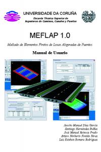 MEFLAP (Mallado de Elementos Finitos de Losas Aligeradas de Puentes). Manual de Usuario
